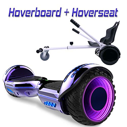 COLORWAY Hoverboard SUV 6.5 Pouces,Gyropode Tout-Terrain avec Roues...