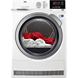 AEG T8DBG862 Independiente Carga frontal 8kg A+++ Color blanco - Secadora (Independiente, Carga frontal, Bomba de calor, Color blanco, Botones, Giratorio, Izquierda)
