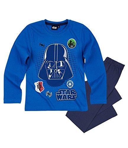 Star Wars-The Clone Wars Darth Vader Jedi Yoda Chicos Pijama – Azul