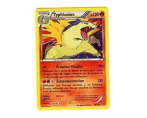 Carte Pokémon 20/162 TYPHLOSION HOLO - Série XY IMPULSON TURBO XY8 à l'unité - NEUVE Française