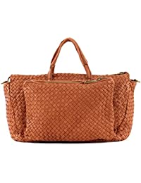 Marc O'Polo Woven Shopper Bolsa Large Cognac