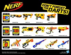 Idea Regalo - Nerf N-Strike Suction Darts 96 Pack