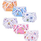 Baby Fly Baby Cotton Cloth Nappies Pack Of 24 (Multi Prints)(0-6 Months)