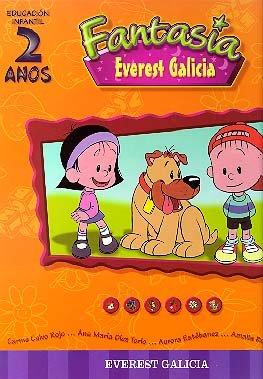 Fantasía 2 anos Galicia: Educación Infantil - 9788440301604