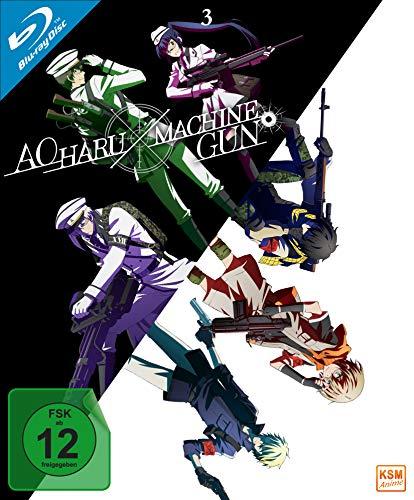 Aoharu X Machinegun - Volume 3: Episode 09-13 [Blu-ray] 3 X Video