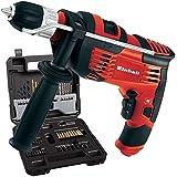 Einhell 4259715 - Taladro percutor con accesorios th-id 720/1 kit incluye 65 accesorios