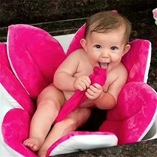 MMTOP - Flor para baño de bebés, para bañarlo en el fregadero hot pink