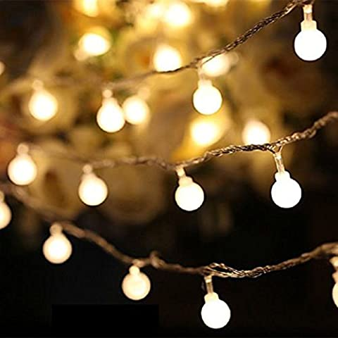 K-Bright 20 LED Light Strip,Home Party Garden Christmas Decorations,Solar Power,Waterproof Outdoor Solar Christmas Fairy String Light,Warm White,Steady On and Flash Modes