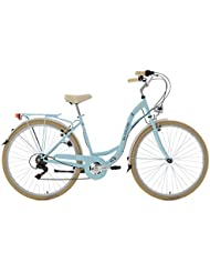 KS Cycling Damen Fahrrad Casino 6 Gänge, hellblau, 28, 716C
