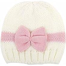 Jimmackey Gorro recién nacido bebé niña niño tejer ganchillo sombrero suave Hospital