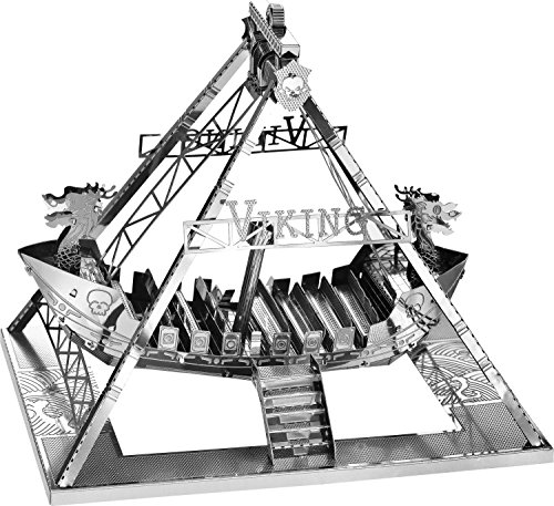 Tronico Spiel + Technik 30307 Schiffschaukel Nein 3D Metallbausatz, Metallic