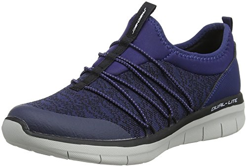 Skechers-Synergy-20-Simply-Chic-Zapatillas-Sin-Cordones-para-Mujer