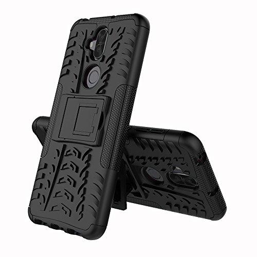 """FoneExpert® ASUS Zenfone 5Q ZC600KL/Zenfone 5 Lite (6.0"""") Coque, Etui Housse Coque Shockproof Robuste Impact Armure Hybride Béquille Cover pour ASUS Zenfone 5Q ZC600KL/Zenfone 5 Lite (6.0"""")"""