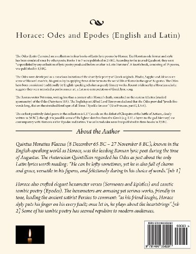 Horace: Odes and Epodes (English and Latin)