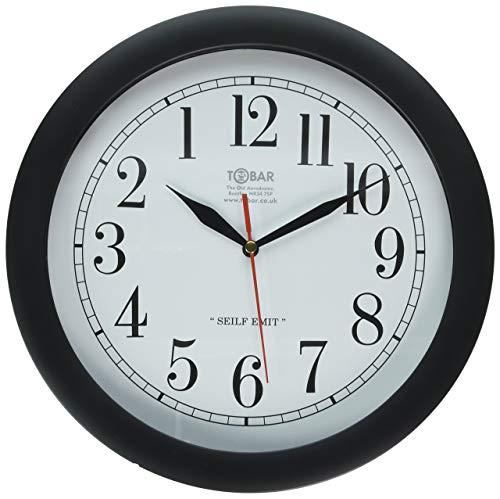 Backwards Clock Linksumgewand Time Piece Witz Neuheit Streich-Geschenk (Karten Lustige Geburtstag Pack)
