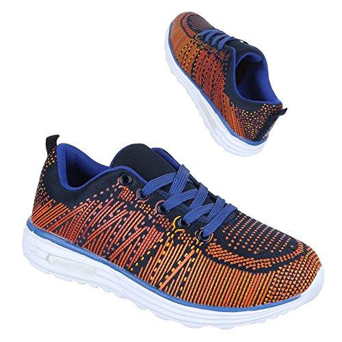 Ital-Design, Sneaker donna Blu (Azul - azul)