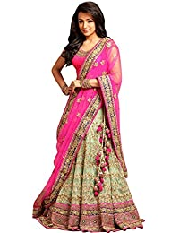 Black Friday Special / A9 Great Indian Festival/Festival/diwali Georgette And Net Lehenga Choli (93089_Multi-Coloured...