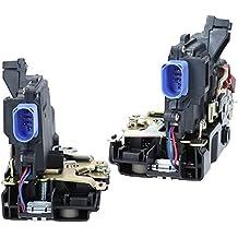 2 x Meccanismo Serratura Porta Posteriore per Auto