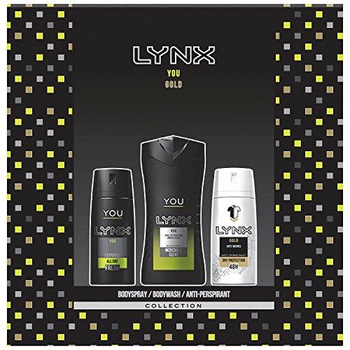 Lynx YOU + Gold Trio Gift Set For Men