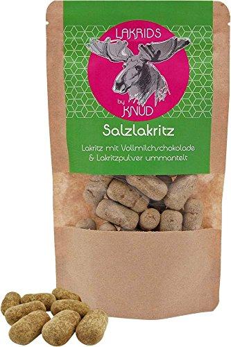 Lakrids Knud | Lakritze mit Schokolade und Lakritzpulver (Lakritze Schokolade)