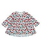 Sense Organics Baby-Mädchen Langarmshirt Edith Tunika GOTS-Zertifiziert, Mehrfarbig (AOP Umbrellas 287004), 92 (Herstellergröße: 18M)