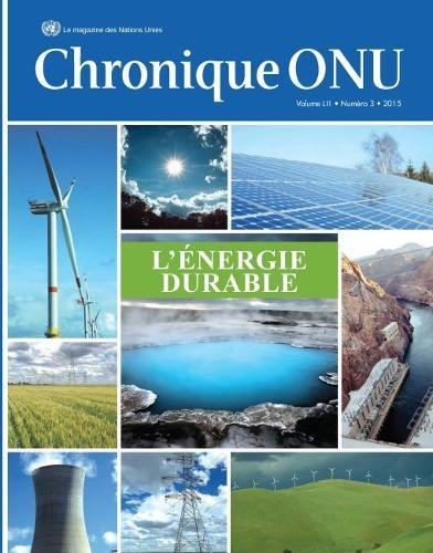 Chronique ONU Volume LII Number 3 2015: L'energie Durable