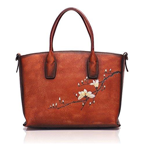 APHISON Designer Soft Leder Tragetaschen Handtaschen für Frauen, meine Damen Schulranzen Umhängetaschen 8205- - Mikrofaser-wallet-karte