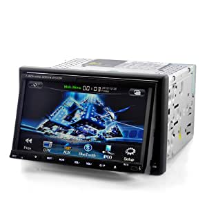 High-Tech Place Knight Rider - Autoradio 2DIN Android 4.0, lecteur DVD, Internet 3G, WIFI, GPS, TNT