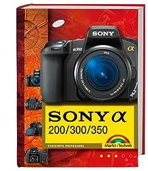 Sony alpha 200/300/350 (Kamerahandbücher)