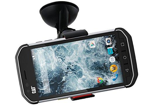 Emartbuy® Universal Handyhalterung Armaturenbrett/Windschutzscheibe Schwarz fürgeeignet CAT S40