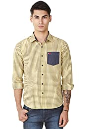 4Stripes Men Casual Check Shirt