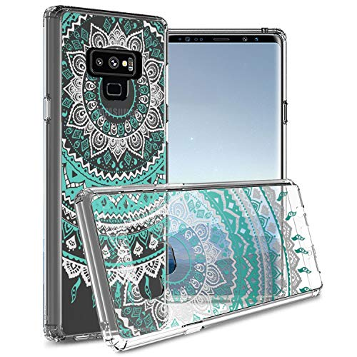 CoverON Schutzhülle für Samsung Galaxy Note 9, transparent, [ClearGuard-Serie] mit Transparenter Rückseite und TPU-Bumper, für Samsung Galaxy Note 9, Clear Mandala Design (Phones Cricket Cell Samsung Note)