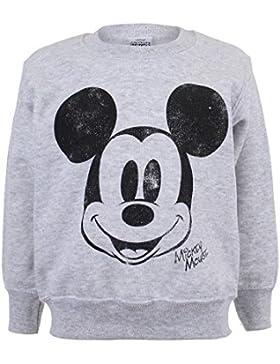 Disney Simple Mickey Face, Camiseta para Niñas