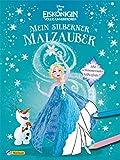 Disney Die Eiskönigin: Mein silberner Malzauber: Mit schimmernder Silberfolie (Disney Eiskönigin)