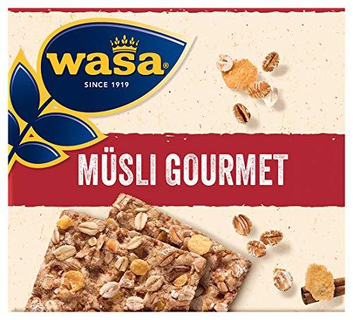 Wasa Knäckebrot Müsli Gourmet, 10er Pack (10 x 220g)