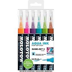 Molotow Grafx 200463juego base 2Aqua marcador de tinta 6