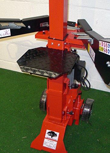 Forest Master Vertical Electric Log Splitter, Red, FM6VE