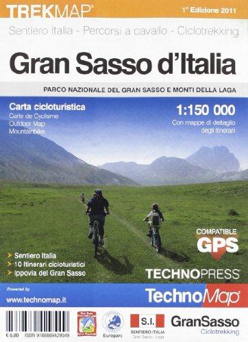 Gran Sasso. Carta cicloturistica por AA.VV.