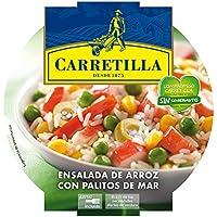 Carretilla - Ensalada de arroz con palitos de mar - 240 g - [Pack de 8]