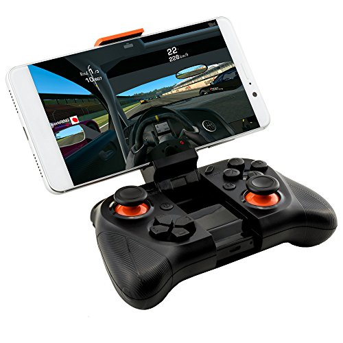 Virtuelle Realität 3D Brille VR Shinecon SC-G04E + Headset für Virtual Reality + Mocute 050 Bluetooth Gamepad - VR-Box mit Joystick für Handy, 3D Filme, VR-Movies, VR-Games, 360 Grad Spiele | Kompatibel mit Android & Windows phone - alle 4,7 bis 6 Zoll Smartphones von Samsung Galaxy | Huawei | Sony Xperia | HTC | Google Pixel | LG | Microsoft