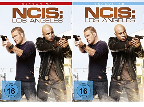 NCIS: Los Angeles - Die komplette Season 4 (4.1 + 4.2) im Set - Deutsche Originalware [6 DVDs] - Ncis La Staffel 4