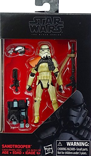 Hasbro Star Wars The Black Series Imperial Sandtrooper Actionfigure 3,75 Inch (Star Dewback Wars)