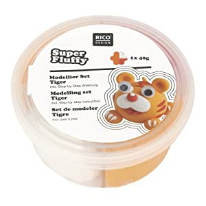 Kit Pâte à Modeler Super Fluffy - Rico Design