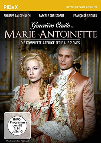 Marie Antoinette / Der komplette, aufwändige und realistische Historien-Vierteiler über das tragische Leben der französischen Königin (Pidax Historien-Klassiker) [2 DVDs]