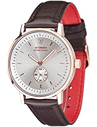 DETOMASO Herren-Armbanduhr MILANO CLASSIC Analog Quarz DT1072-E