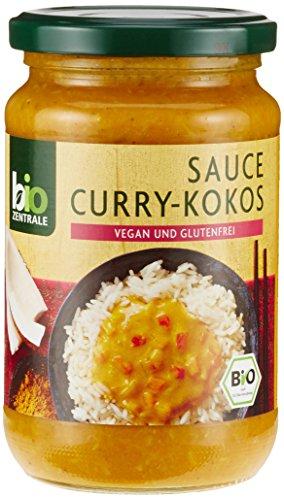 biozentrale Sauce Curry-Kokos, 6er Pack (6 x 340 ml)