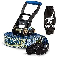 Gibbon Fun Line X13 15m Slackline 50mm Tight Rope 13880 + Tukeke Hammock