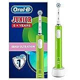 Oral B Junior Oplaadbare Elektrische Tandenborstel Voor Kinderen Van 6 Jaar En Ouder, Groen