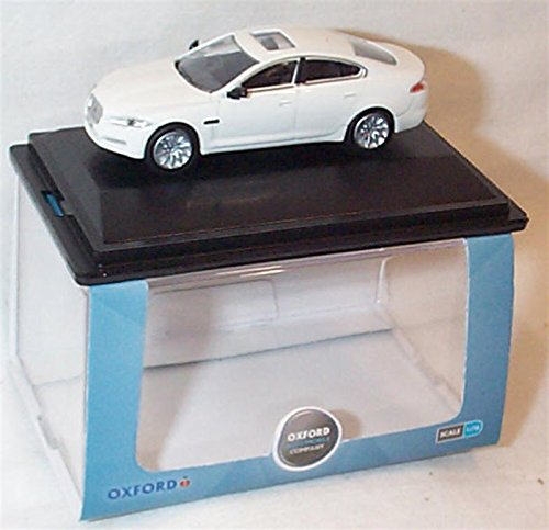 oxford-jaguar-xf-2013-polaris-white-car-176-scale-diecast-model
