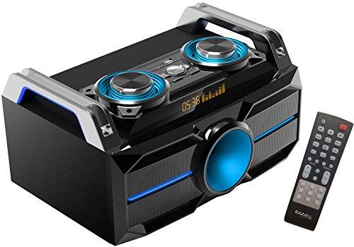 Ibiza SPLBOX100 Chaîne Hi-Fi à LED 100 W